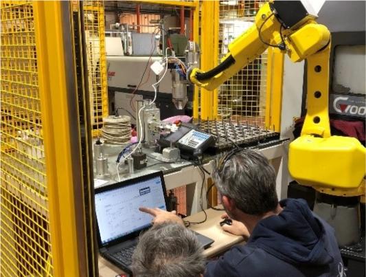 רובוט תעשייתי
