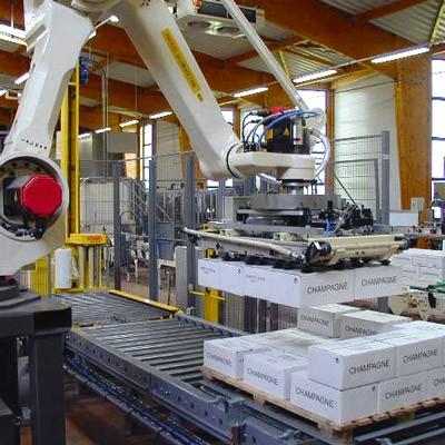רובוט משטוח מהיר