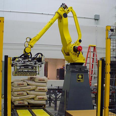 משטוח סידור רובוטי שקים