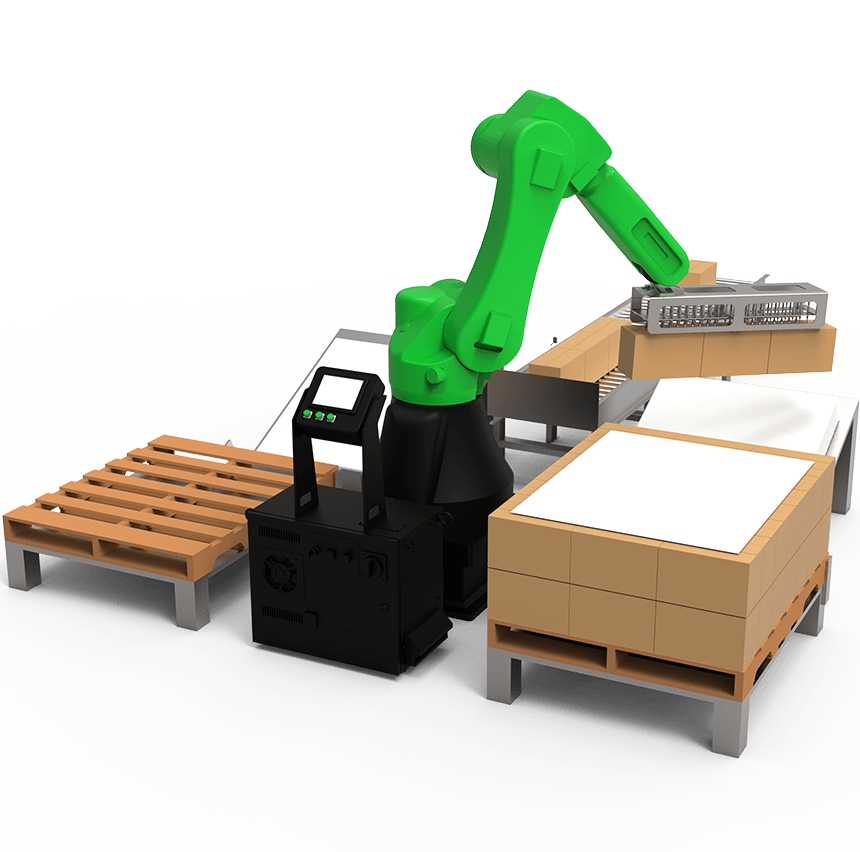 רובוט קובוט משטוח ללא הגנות