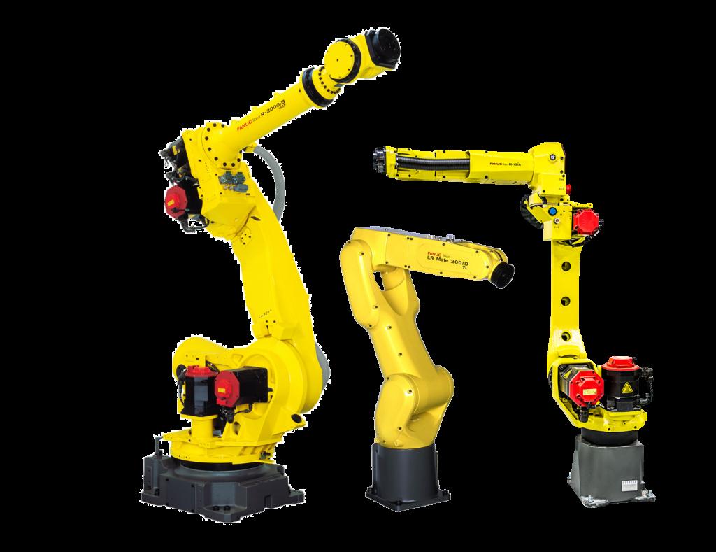 רובוטים מבית FANUC פאנוק רובוט תעשייתי