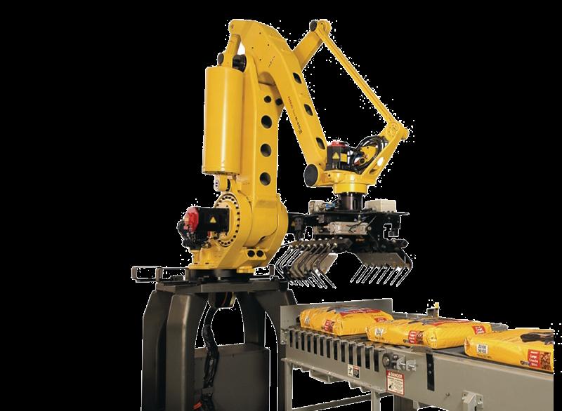 רובוט סידור משטוח שקים