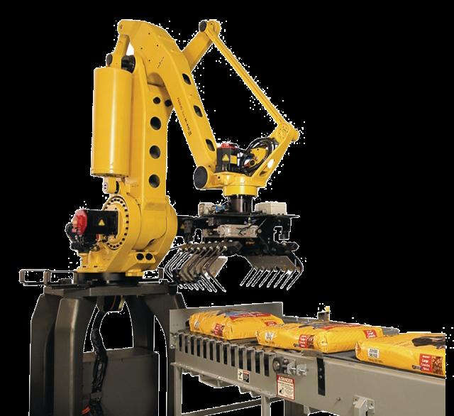 רובוט למשטוח וסידור שקים
