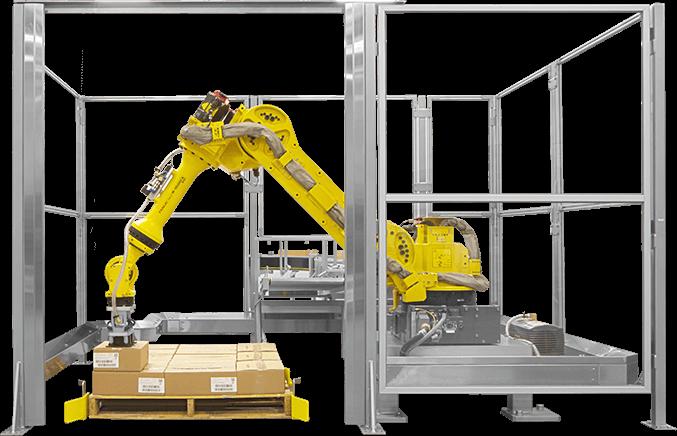 רובוט לסידור מארזים קופסאות