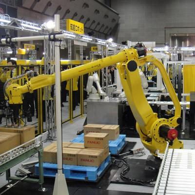 רובוט לפריקה של משטחים