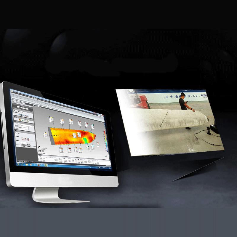 סורק לייזר תלת מימד סריקה הנדסה לאחור ביקורת איכות quality inspection 3d scanner