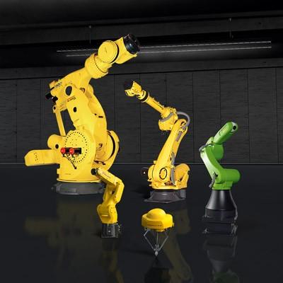 רובוטים FANUC אמינים