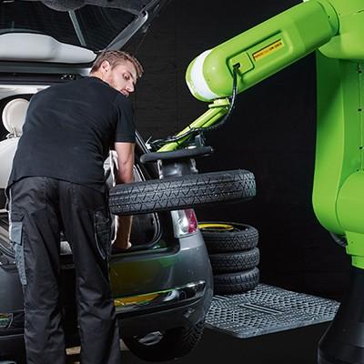 robot cr cobot fanuc קובוט תעשייה משטוח