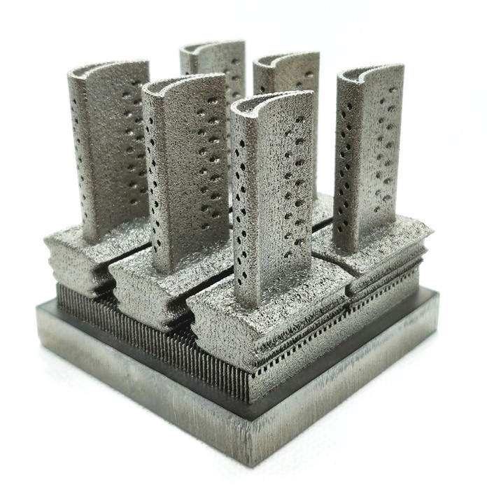 מדפסת פלדה טיטניום אלומיניום תלת מימד