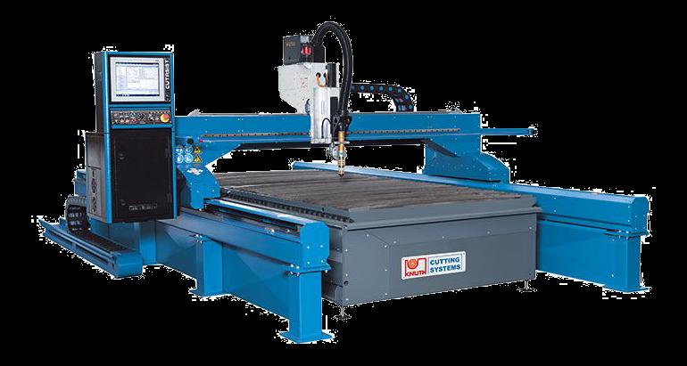 מכונת חיתוך פלסמה פלזמה CNC גדולה מהירה