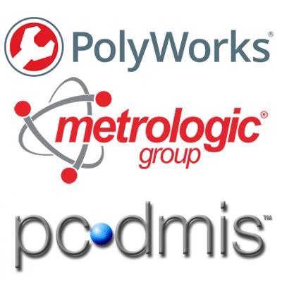 תוכנת מדידה CMM תוכנה למכונת POLYWORKS MCOSMOS PCDMIS
