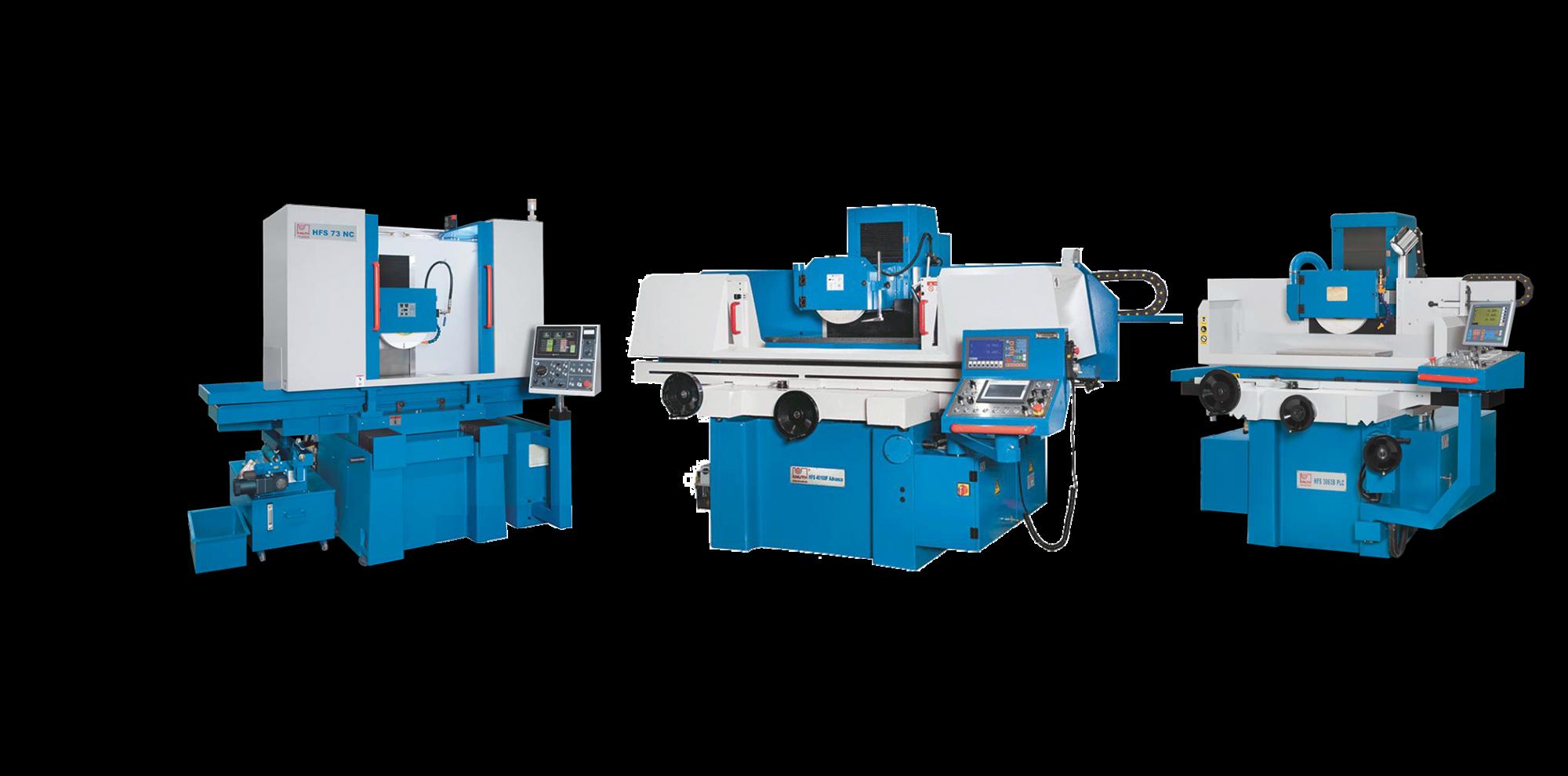 מכונות השחזה משחזות שטחים אוטומטית חצי אוטומטיות NC CNC ידניות חצי ידניות
