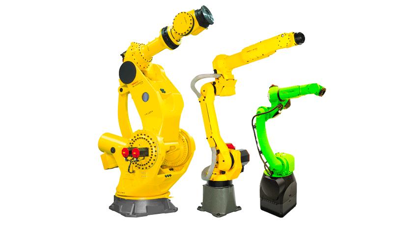 רובוטים תעשייתיים מבית פאנוק פנוק LR-MATE M710 M10 M20 FANUC