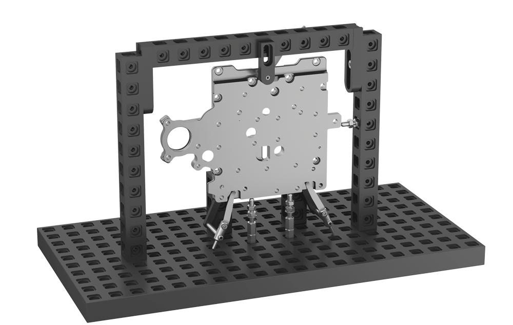מתקני דפינה למכונות מדידה XYZ CMM COORD3 ABERLINK