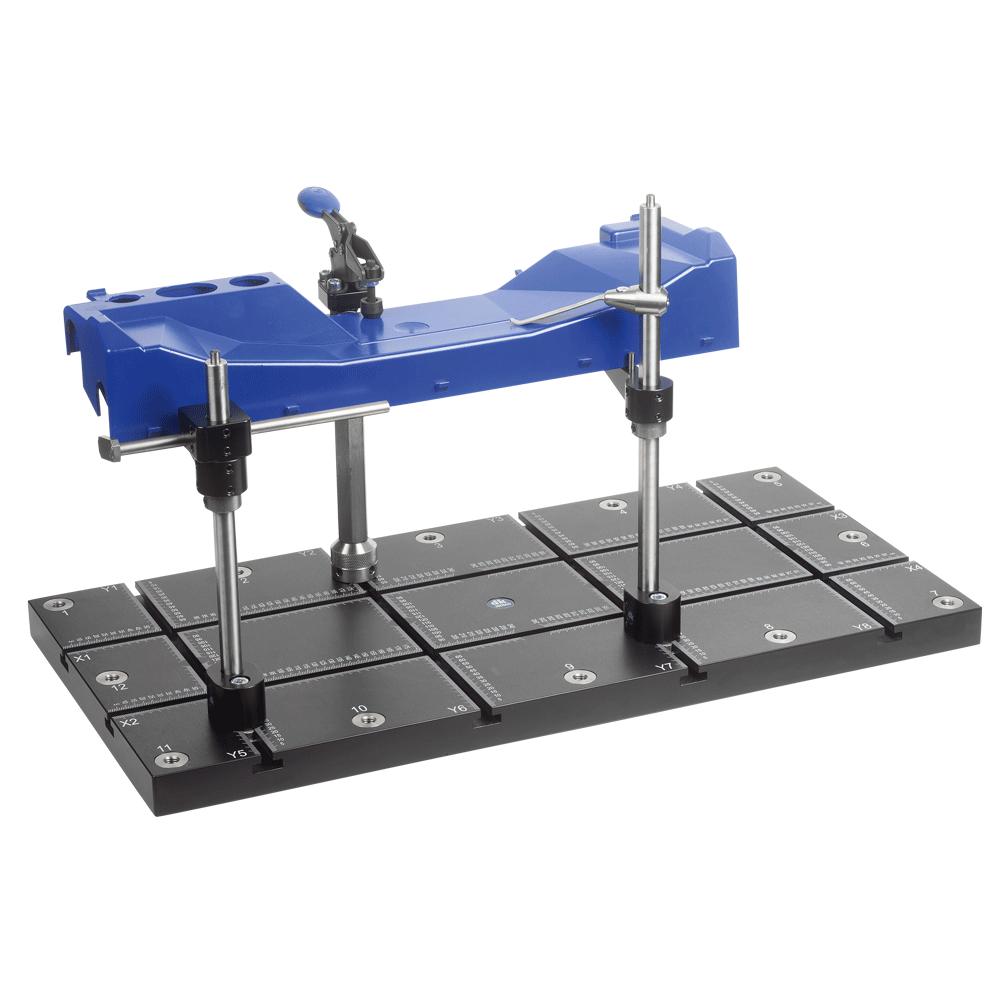 מערכת דפינה מתקן דפינה למכונת מדידה XYZ CMM DEA LK HEXAGON MITUYOUO