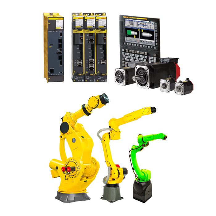 כל מוצרי FANUC פאנוק פנוק רובוטים בקרות מכונות CNC FANUC ISRAEL