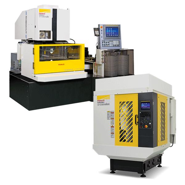 מכונות CNC FANUC כרסומת מכונה חיתוך חוט ארוזיה EDM פאנוק ישראל CNC רובוטים