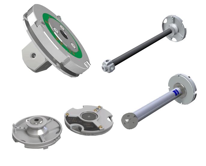 מתאמים adaptor plate מכונת מדידה ZEISS