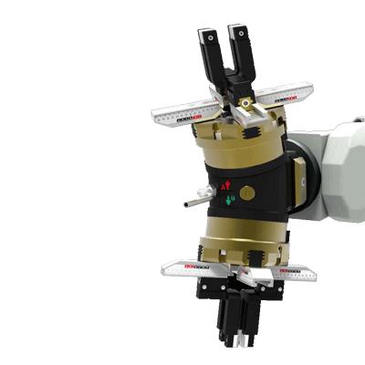 גריפר כפול טעינה אוטומטית CNC מכונה כרסומת DOOSAN OKUMA HAAS