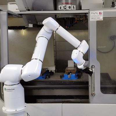 רובוט פותח דלתות דלת CNC כרסומת קובוט טעינה pick and place