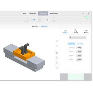 תוכנה טעינה חלקים תכנות CNC אוטומטית רובוט