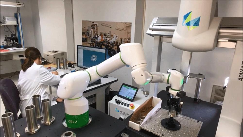קובוט רובוט למדידה לביקורת איכות