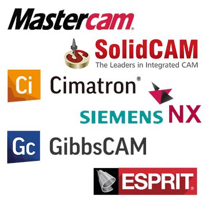 mastercam cimatron solidcam cnc סימטרון יוניגרפיקס גיבסקם סולידקם פוסט פרוססור
