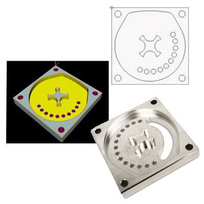 ייבוא קובץ DXF שרטוט G-CODE כרסומת CNC תוכנה תכנות CAM CAD
