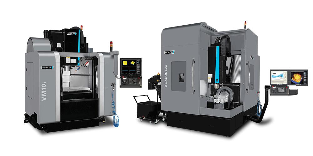 כרסומות HURCO לעיבוד שבבי CNC ב-3 4 או 5 צירים
