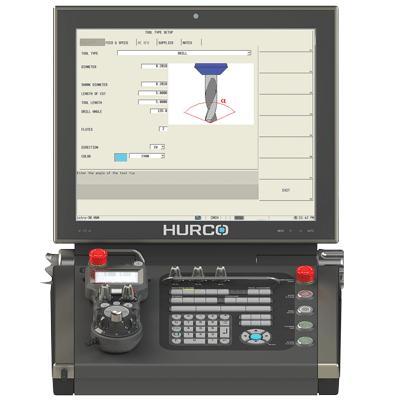מסך FANUC HURCO הפעלה g-code תכנות על המכונה בקרה מחשב CNC