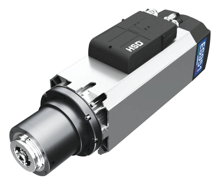 ספינדל לכירסום פלסטיק אלומיניום CNC כרסומת HSD מנוע קידוח חיתוך